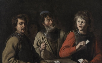 Le Nain, The Card Players, c. 1640–45, oil on canvas (Musée Granet, Aix-en-Prove