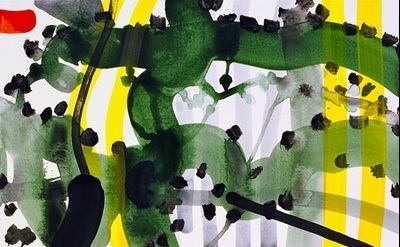(detail) Peter Wayne Lewis, Beijing Booster, 2009 (courtesy of Skoto Gallery)
