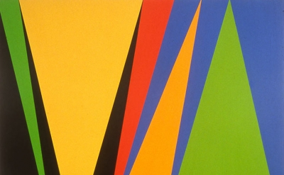 James Little, Portrait of a Star, 2001, oil and wax on canvas, 74 x 96 inches (courtesy of the artist)