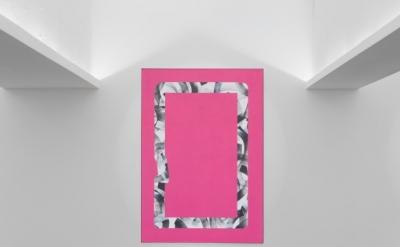 Installation view: Dennis Loesch at PM/AM Gallery, London