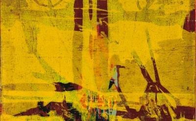 (detail) Fabricio Lopez, Untitled, 2013, woodcut, 40 x 40 cm (© Fabricio Lopez p
