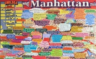 Loren Munk, What Manhattan Makes Brooklyn Takes, 2004-06, Oil, 72 x 64 inches (c