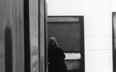(detail) Sandra Lousada, Photo of the exhibtion Mark Rothko at the Whitechapel G