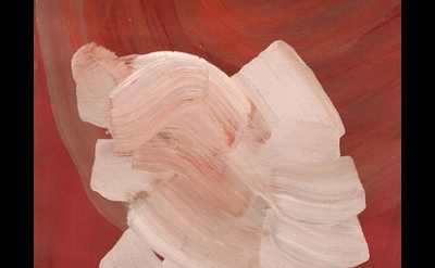 (detail) Rachael Macarthur, Tabula Rasa, 2013, acrylic on paper (courtesy of the