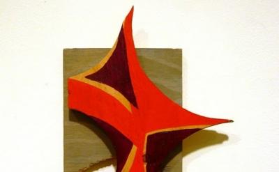 "Martha Clippinger, gig, 2010 acrylic on wood 7.5 x "" x 1.25 inches (photo Kris C"