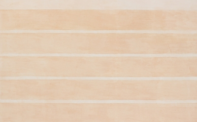 (detail) Agnes Martin, 3/17 - Untitled #10, 2002, acrylic and graphite on canvas