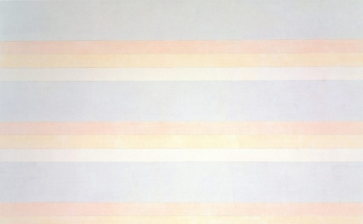 Agnes Martin, Untitled #2, 1992, acrylic on canvas, 60 x 60 inches (courtesy the Solomon R. Guggenheim Museum/© 2015 Agnes Martin.Artists Rights Society (ARS), New York)