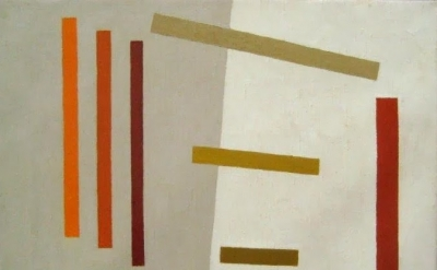 Alice Trumbull Masonm Remembrance, 1962, oil on canvas (courtesy of Washburn Gal