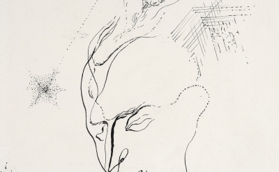 (detail) André Masson, Benjamin Péret - Automatic Drawing, c.1925 (courtesy of Galerie Natalie Seroussi)