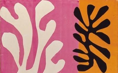 (detail) Henri Matisse, Snow Flowers, 1951 (Jacques and Natasha Gelman Collectio