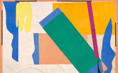 (detail) Henri Matisse, Memory of Oceania, Nice-Cimiez, Hôtel Régina, summer 195