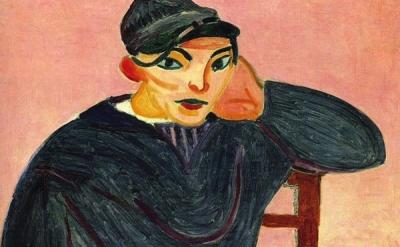 (detail) Henri Matisse, Young Sailor II, 1906 © 2012 Succession H. Matisse / Art