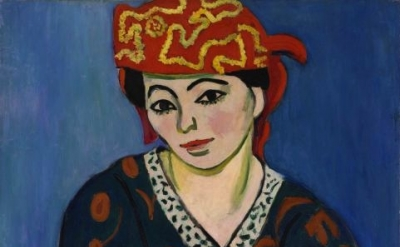 (detail) Red Madras Headdress ©2011 Succession H. Matisse / Artists Rights Socie