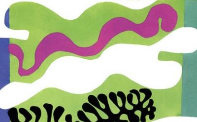 (detail) Henri Matisse, The Lagoon, 1944 (Centre Pompidou, Paris. Musée National