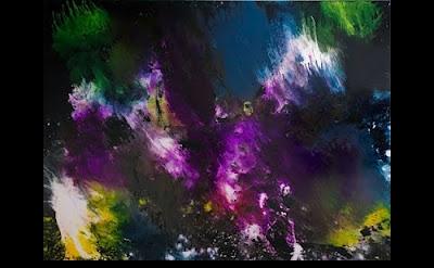 Matt Jones, Energy II, 2012, acrylic and urethane on canvas, 71 x 94.5 inches (c