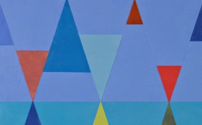 (detail) Joanne Mattera, Chromatic Geometry 21, 2014 (courtesy of the artist and