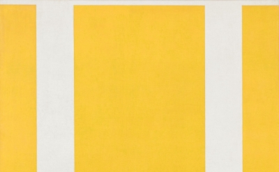 John McLaughlin, #4, 1965, oil on canvas, 48 x 60 inches (courtesy of Van Doren Waxter)