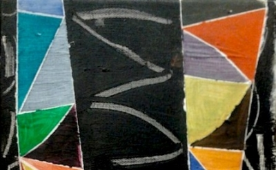 (detail) Painting by John McLean (photo: Andy Parkinson, courtesy of Lion and La