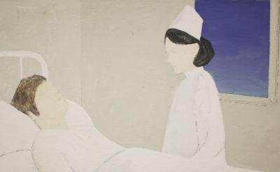 (detail) John Mendelsohn, Hospital Drawing 2, 1982 (courtesy of the artist)