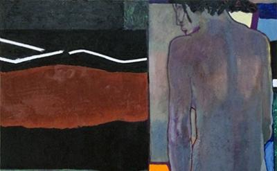 Thomas Micchelli, Bacchante (back), 2014 (courtesy of John Davis Gallery)