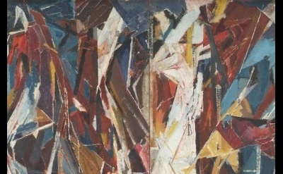 (detail) Miles Richmond, Duino 1948, Oil on Board (source: milesrichmond.co.uk)