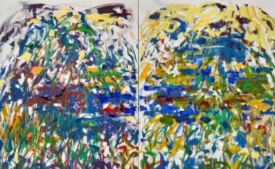 Joan Mitchell, Rivière, 1990, oil on canvas (© Estate of Joan Mitchell, collecti
