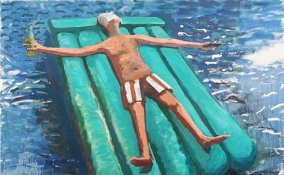 Jason Mones, Adrift, 2013, oil on canvas (courtesy of the artist)