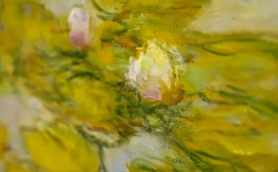 Detail of a painting by Claude Monet (courtesy Tate Liverpool)