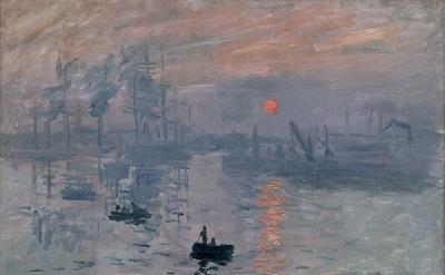 Claude Monet, Impression, Sunrise, 1872 (Musée Marmottan)