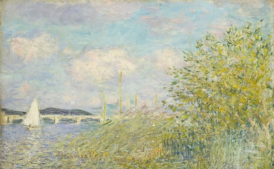 Claude Monet, The Seine at Argenteuil (La Seine á Argenteuil), 1874 (Private Col