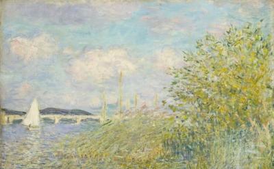 Claude Monet, The Seine at Argenteuil (La Seine á Argenteuil), 1874 (Private Col