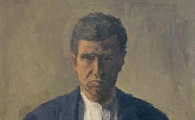 (detail) Giorgio Morandi, Autoritratto (Self Portrait), 1930 (photo: Joanne Matt