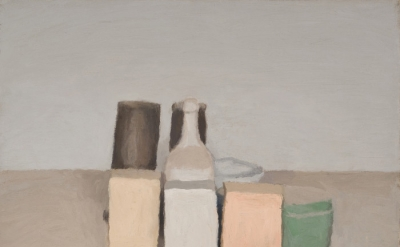 Giorgio Morandi, Natura morta (Still Life), 1956, oil on canvas (©2015 Artists R