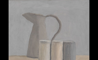 Giorgio Morandi, Natura morta (Still Life), 1962, oil on canvas, 12 3/16 x 14 3/