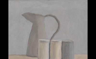 Giorgio Morandi, Natura morta (Still Life), 1962, oil on canvas, 12 3/16 x 14 3/
