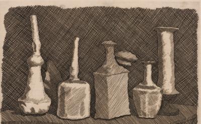 Giorgio Morandi, Natura morta a grandi segni, 1931 (© 2015 Artists Rights Societ