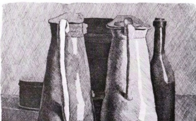 Giorgio Morandi, Still Life with Five Objects, 1956 (photograph: Courtesy Galler