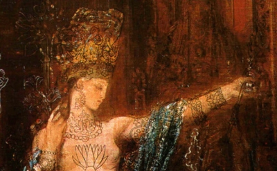 (detail) Gustave Moreau, Salomé, 1876 (Musée National Gustave-Moreau Location,