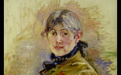 (detail) Berthe Morisot, Self-portrait, 1885 © Musée Marmottan Monet, Paris / Br