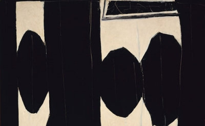 Robert Motherwell, At Five in the Afternoon, 1950 (courtesy of the de Young Muse