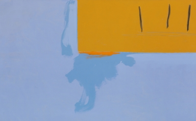 (detail) Robert Motherwell, Cape Cod, 1971(© The Dedalus Foundation, photo by La