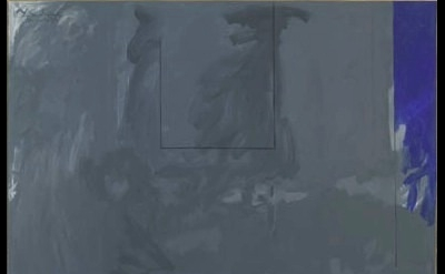 Robert Motherwell, Dover Beach No. III, 45 x 107 inches (image courtesy of Berna