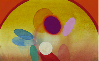 (detail) Stephen Mueller, Untitled (NYC), 2010, watercolor and gouache on paper,