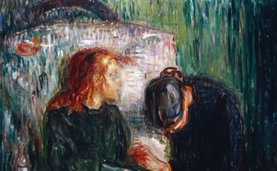 (detail) Edvard Munch, The Sick Child, 1907, Oil paint on canvas (© Munch Museum
