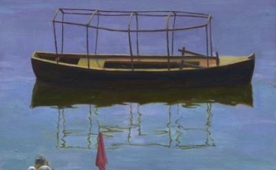 (detail) Kathryn Myers, Pilgrim, oil on wood, 2007 (courtesy of the artist)