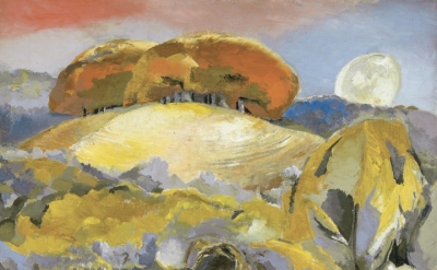 Paul Nash, Landscape of the Moon's Last Phase, 1944, oil on canvas (Walker Art Gallery (Liverpool) Paul Nash © ate)