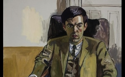 (detail) Alice Neel, Richard, 1969, oil on canvas, 60 x 40 inches (courtesy Davi