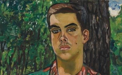 (detail) Alice Neel, Richard with Dog, 1954 (courtesy of Victoria Miro Mayfair)