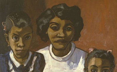 Alice Neel, Black Spanish-American Family, 1950 (courtesy of David Zwirner/The Estate of Alice Neel)