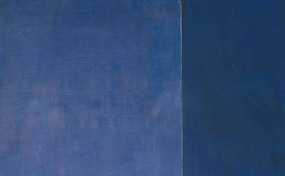 (detail) Barnett Newman, Ulysses, 1952  (© Barnett Newman Foundation / Artists R